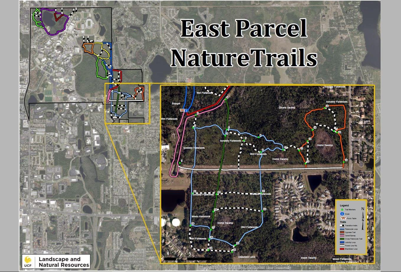East Parcel Trails Map