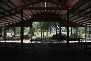 pavilion from inside